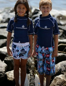 Snapper Rock UV50+ swimwear for girls and boys.